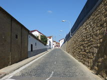 Cobbled street in Haro Stock Photos