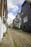 Cobbled Street In Rye, East Sussex Stock Image