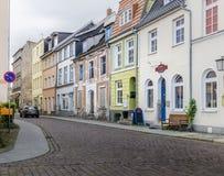 Cobbled Street, Stralsund, Germany Stock Images