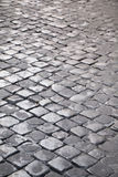 Cobbled street. The cobbled streets of Rome, Italy, Tourist, Attraction, could be used as background or other illustrations Royalty Free Stock Photography