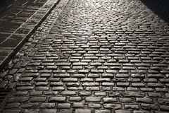 Cobbled Street of Temple Bar, Dublin Stock Photography