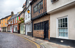 Cobbled Streets of Norwich Stock Photo
