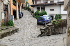 Cobbled Streets of Veliko Tarnovo Stock Images