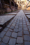 Cobbled strteet Royalty Free Stock Photography