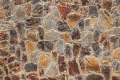 Cobbled wall background Stock Image