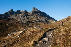 The Cobbler & x28;Ben Arther& x29; in winter Royalty Free Stock Photography