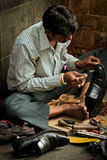 Cobbler of The Gateway to India, Mumbai, India Royalty Free Stock Photography