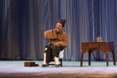 A cobbler`s yawn-Report of the outstanding young opera performers Royalty Free Stock Photo