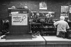 Cobbler Sklepowy Nowy Jork zdjęcia royalty free