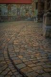 Cobbles διαρκούν το φως Στοκ φωτογραφία με δικαίωμα ελεύθερης χρήσης