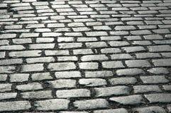 cobbles улица Стоковые Фото