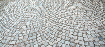 Cobbles. On the street - can be used as background Stock Photo