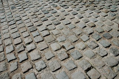 Cobbles. On the pavement on the pavement Royalty Free Stock Photo