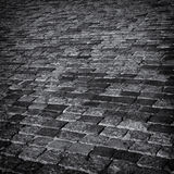 Cobbles abstract background. Stock Photo