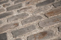 Cobbles background Stock Photography