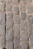 Cobbles. Close up of a Cobbles royalty free stock photo