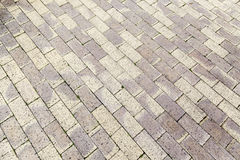 Cobbles on the floor Stock Images