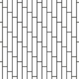 Cobbles grid stripped seamless pattern Stock Photo