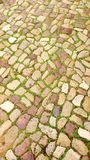 Colourful cobbles background 1 royalty free stock photography