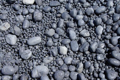 Cobbles, smooth and round Stock Image