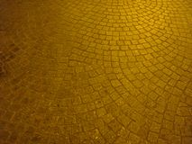Cobbles on a square in Paris. France royalty free stock photography