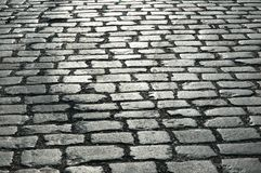 Cobbles on the street. Can be used as background stock photography