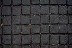 Cobbles in a street of Hoi An. Vietnam royalty free stock photos