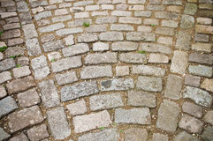 cobbles in the street Stock Image