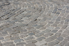 Cobbles on the waterfront in Rostov-on-Don. Laying did fascist G Stock Image