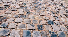 Cobblestone. Abstract  block stones background Stock Image