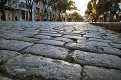 cobblestone Fotografia Stock