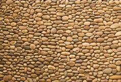 Cobblestone. Do a wall. background Stock Photo
