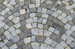 Cobblestone as background Royalty Free Stock Images