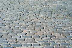 Cobblestone as background Stock Photography