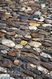 Cobblestone background Stock Image
