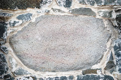 Cobblestone Background. Close up.  Lots of copy space Stock Images