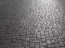 Cobblestone, Black And White, Road Surface, Asphalt royalty free stock photos
