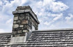 Cobblestone Chimney Royalty Free Stock Image