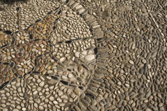 Cobblestone Design. Cobblestone sidewalk design Royalty Free Stock Image