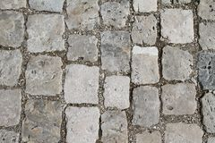 Cobblestone Floor Stock Images