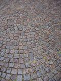 Cobblestone floor Royalty Free Stock Photo