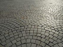 Cobblestone floor. Beautiful cobblestone floor in Porto, Portugal Stock Image