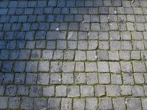 Cobblestone floor Royalty Free Stock Images
