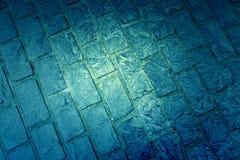 Cobblestone floor Stock Photo