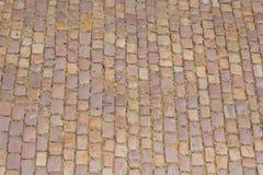 Cobblestone floor Stock Photos
