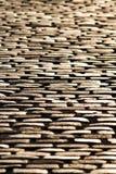 Cobblestone floor at sunset Stock Photo