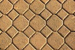Cobblestone floor texture Stock Image