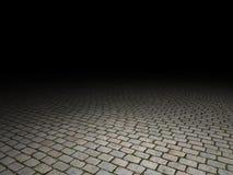 Cobblestone floor Stock Photography