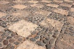 Cobblestone ground, monastery of Saint Catherine, Santa Catalina, Arequipa, Peru. Cobblestone ground of the famous monastery of Saint Catherine, Santa Catalina stock photo