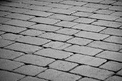 Cobblestone Main Street Stock Photos